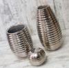 Набор керамических ваз Шантили платина