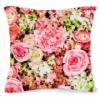 Подушка декоративная 40х40 см Цветочный принт