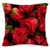 Подушка декоративная 40х40 см Розы-1