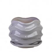 Горшок керамический для растений Волна PT 201-16