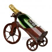Деревянный минибар Велосипед в подарок мужчине