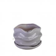 Горшок керамический для растений Волна PT 201-09