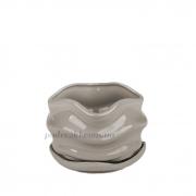 Горшок керамический для растений Волна PT 201-09 SK