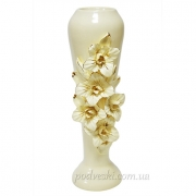 Керамическая ваза Ирис барокко 40 см