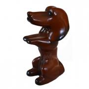 Керамическая статуэтка собака Такса 13 см