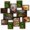 Мультирамка коллаж на 12 фотографий Мега Путешествие  Шоколад