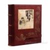 Кожаный фотоальбом Воспоминания 30x30 см
