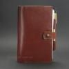 Кожаный блокнот, софт-бук 4.0 Коньяк