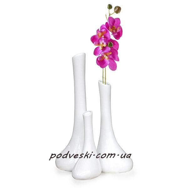 вазы декор белая ваза купить Украина цена