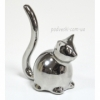 Статуэтка керамическая Кошка (платина или белый)