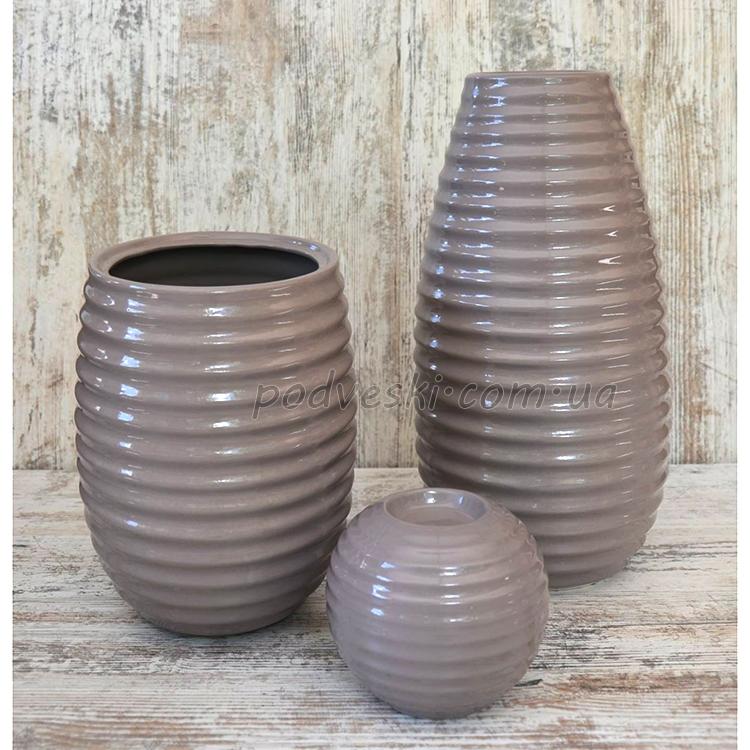вазы керамические декор подарок набор ваз