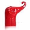 Керамический слон подсвечник Eterna 2009-22 красный