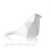 Статуэтка керамическая Пташка мини 2507-6,5 white