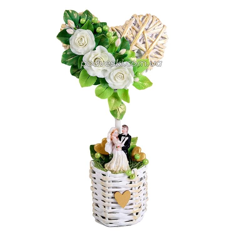 топиарий свадебный подарок декор