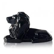 Статуэтка керамическая Лев 2509-13 черный
