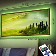 Картина с диодной подсветкой Поместье