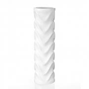 Ваза керамическая белая Eterna Волна 0005W