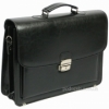 Мужской портфель кожзам Jurom 0-38-111 чёрный