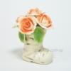 Статуэтка керамическая Сапожок с розами