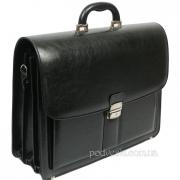 Мужской портфель кожзам Jurom 0-41-111 чёрный