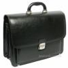 Мужской портфель кожзам Jurom 0-33-111 чёрный