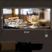 Картина-светильник Виски со льдом