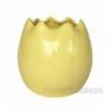Ваза керамическая Яйцо 1708-13 yellow