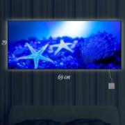 Картина-светильник Морское дно