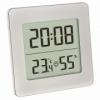 Термогигрометр комнатный с часами TFA 30503854