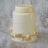 Керамическая баночка Офелия с золотом 16 см