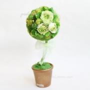 Цветочное дерево, топиарий Жаркое лето