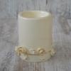 Керамический подсвечник Офелия с золотом 13 см