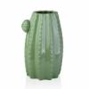 Ваза керамическая Кактус Eterna WW 2701-23,5 св.-зеленая