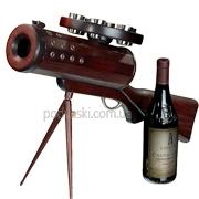 Подставка для вина Пулемет