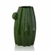 Ваза керамическая Кактус Eterna WW 2701-23,5 зеленая