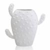 Ваза керамическая Кактус Eterna WW 2705-28,5 белая