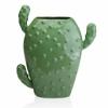 Ваза керамическая Кактус Eterna WW 2705-28,5 св.-зеленая