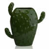 Ваза керамическая Кактус Eterna WW 2705-28,5 зеленая