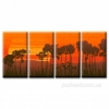 Модульная картина на холсте Закат солнца