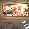 Картина с диодной подсветкой Буйное цветение
