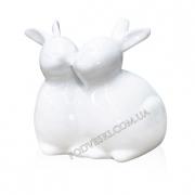 Керамическая статуэтка Рождественские кролики Eterna 1702-15