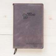 Блокнот-ежедневник Chrono кожаный коричневый