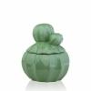 Декор керамический шкатулка Кактус Eterna WW 2704-15 св-зеленая