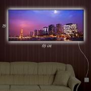 Картина-светильник Ночной Париж