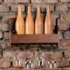 Мини бар Полка деревянная венге