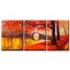 Модульная картина 105х50 Glozis Золотая осень