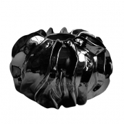 Ваза керамическая Комета черная 22 см