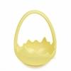 Декор козина керамічна Шкаралупа 1714-8 жовта