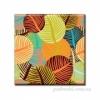 Картина 50х50 см Glozis Листья