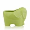 Кашпо керамика слон 3106-11 Green